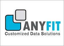 ANYFIT - עיצוב לוגו לחברת פתרונות מידע
