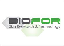 BIOFOR - עיצוב תדמית לחברה המייצרת מוצרי קוסמטיקה הכולל לוגו, כרטיסי ביקור, מדבקות  ואריזות.