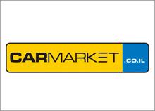 CAR MARKET - לוגו לאתר בתחום הרכב