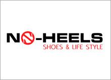 NO-HEELS - בניית מותג מעצבת נעליים