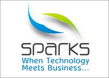 SPARKS - בניית לוגו חברת טכנולוגיה בשילוב עסקים