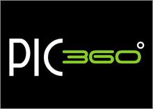 PIC360 - לוגו  גאג''ט מצלמה פנורמית 360 מעלות לאייפון