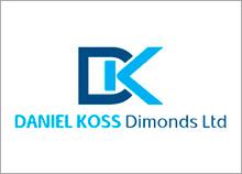 DK - עיצוב לוגו וניירת לחברת יהלומים