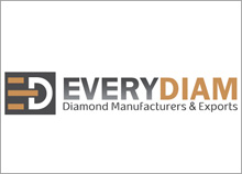 EVERY DIAM - עיצוב לוגו חברת יהלומים בנוסף עיצבנו עבורם את הדוכן לתערוכת יהלומים ופוסטרים.