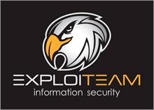 EXPLOITEAM - עיצוב לוגו לחברת אבטחת מידע