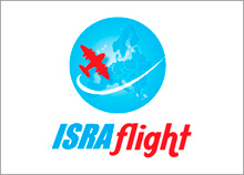 ISRAflight - עיצוב אתר אינטרנט ולוגו מדריך טיסה