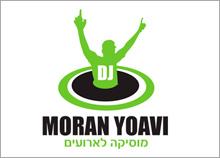 DJ MORAN YOAVI - עיצוב סמל לדי.גי