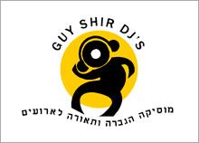 DJ GUY SHIR - עיצוב אייקון גרפי לחברת מוסיקה הגברה ותאורה