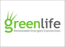 GREEN LIFE - עיצוב הלוגו של חברה העוסקת באנרגיה ירוקה