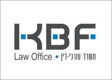 KBF - עיצוב לוגו ומיתוג למשרד עורכי-דין