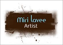 מירי לביא - בניית לוגו לאתר אינטרנט של ציירת