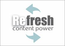 REfresh - לוגו לאתר אינטרנט