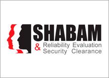 SHABAM - לוגו לעסק בתחום הביטחון ובדיקת אמינות
