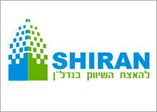 SHIRAN - בניית לוגו חברת שיווק נדל