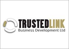 TRUSTED LINK - עיצוב ניירת ולוגו חברת פיתוח עסקים בינלאומיים